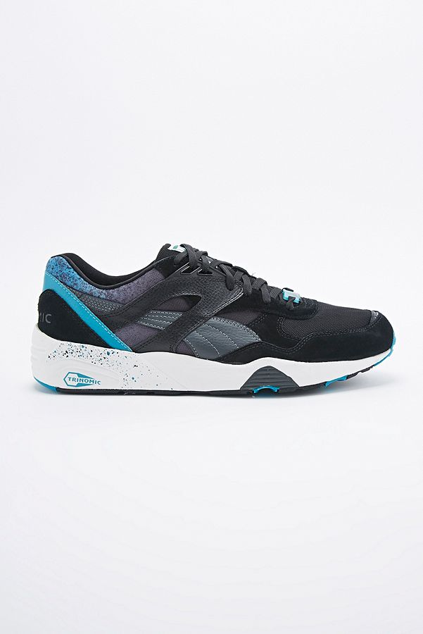 Puma Trainers Outfitters Uk In Trinomic R698 BlackUrban Splatter Y9WEDHI2