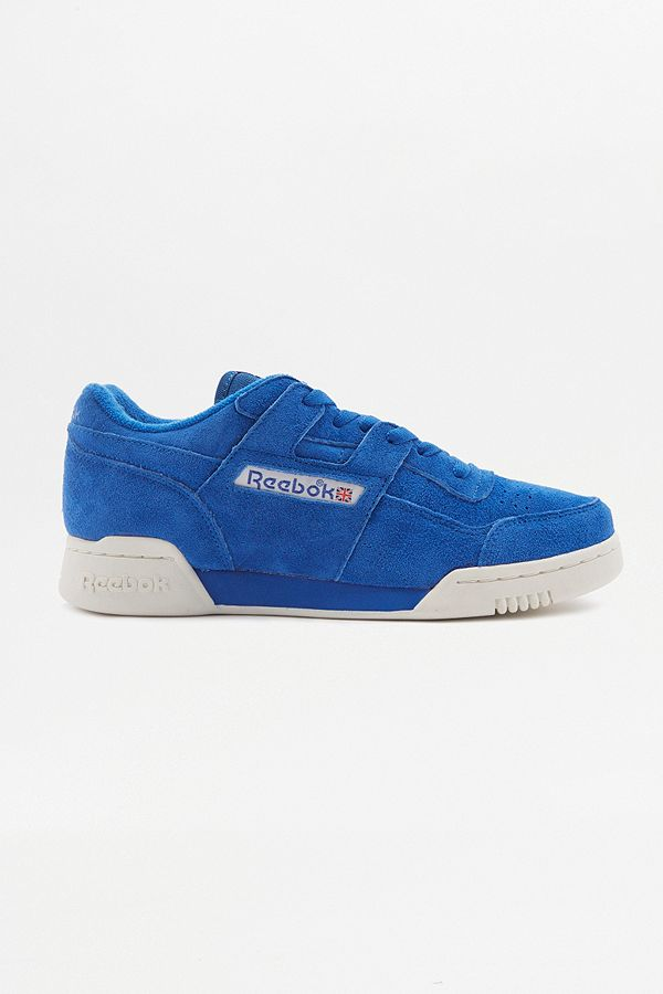 394d2738e7b Reebok Workout Plus Vintage Awesome Blue Trainers | Urban Outfitters UK