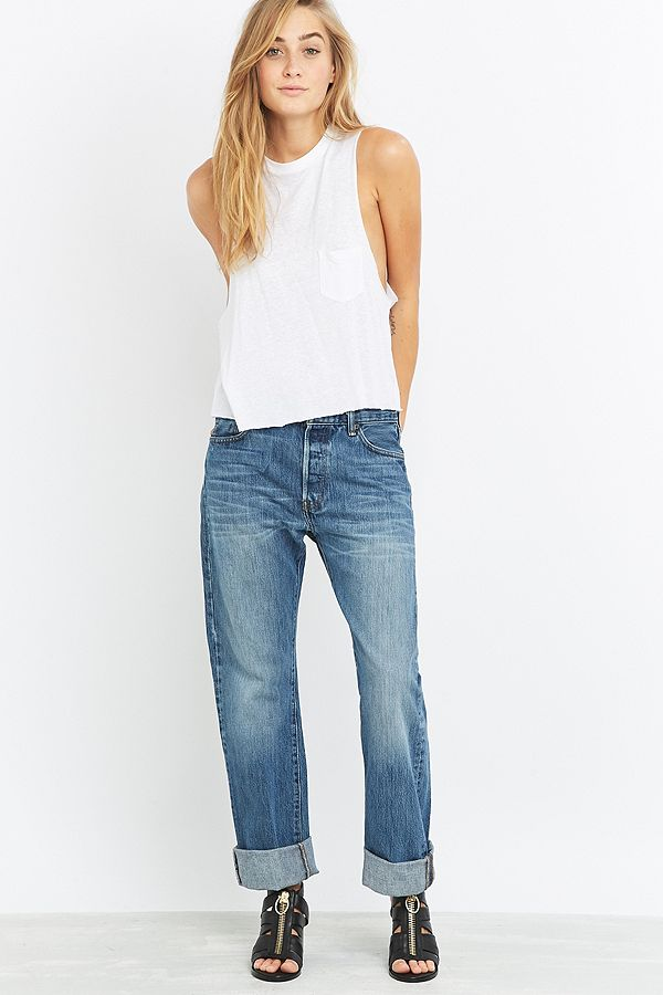 aa766b18 Urban Renewal Vintage Originals Light Wash Levi's 501 Jeans | Urban ...