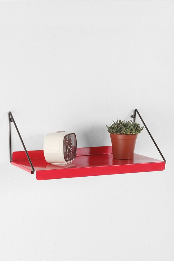 Fine Red Metal Shelf Urban Outfitters Uk Interior Design Ideas Clesiryabchikinfo