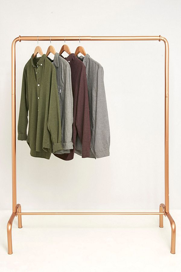 gold clothing rack urban outfitters rose gold clothing rack