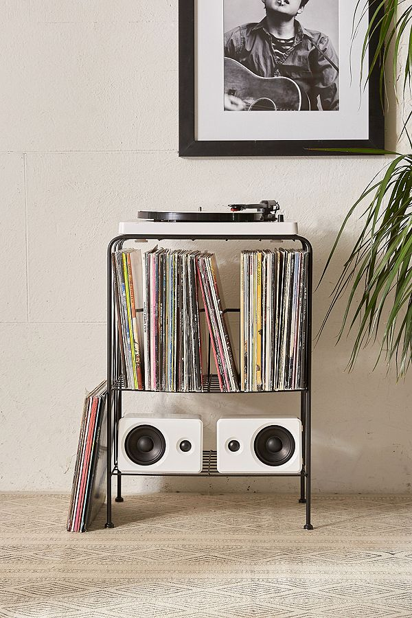 Melanie Vinyl Record Storage Shelf Urban Outfitters Uk