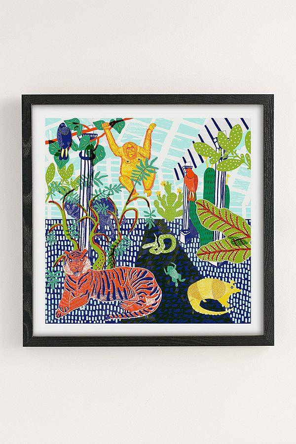 Camilla Perkins Jungle Wall Art Print