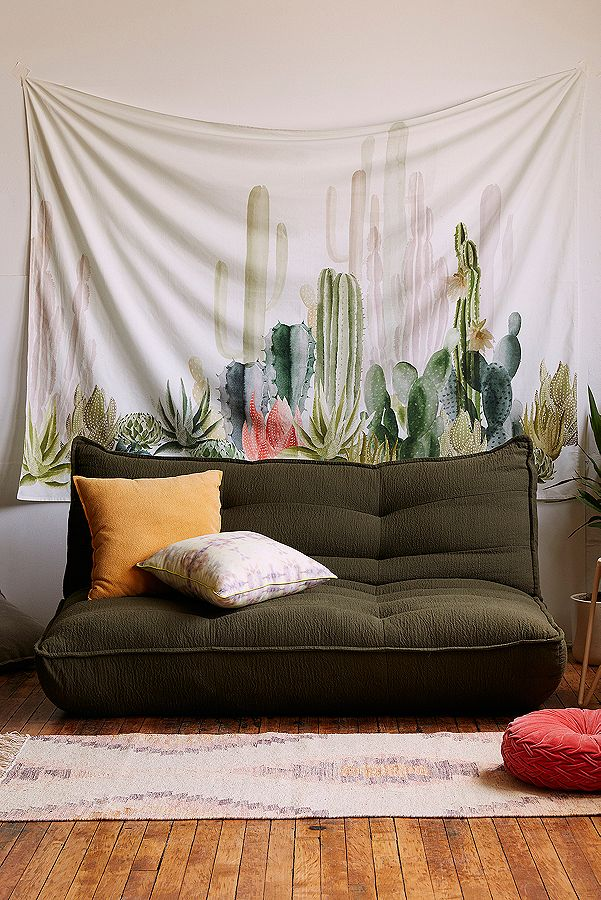 Remarkable Cactus Print Landscape Tapestry Ibusinesslaw Wood Chair Design Ideas Ibusinesslaworg