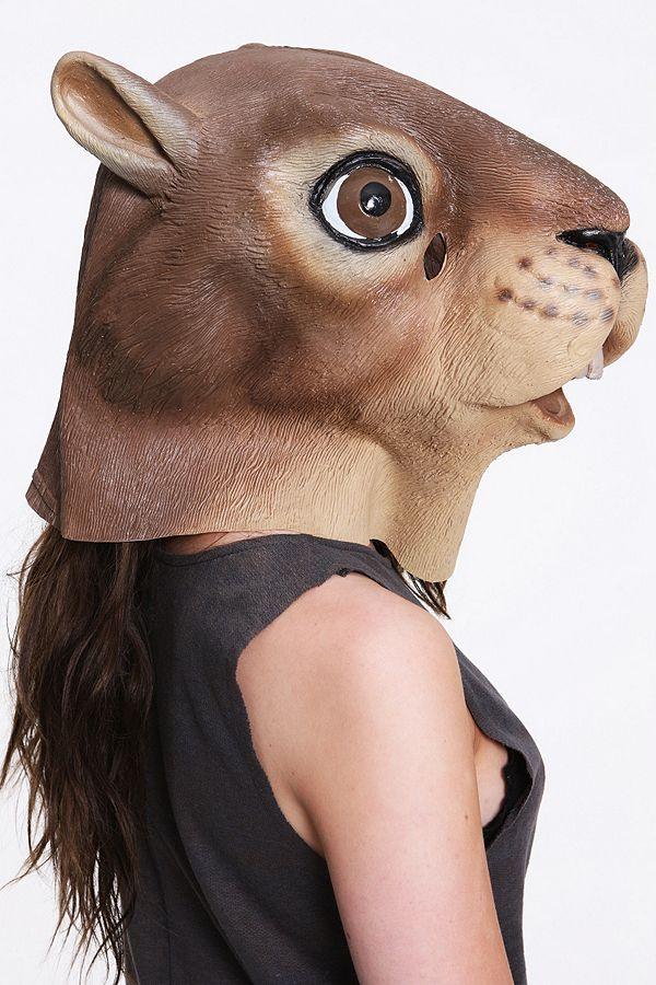 riesiges Inventar offizieller Verkauf Sortendesign Eichhörnchen-Maske | Urban Outfitters DE
