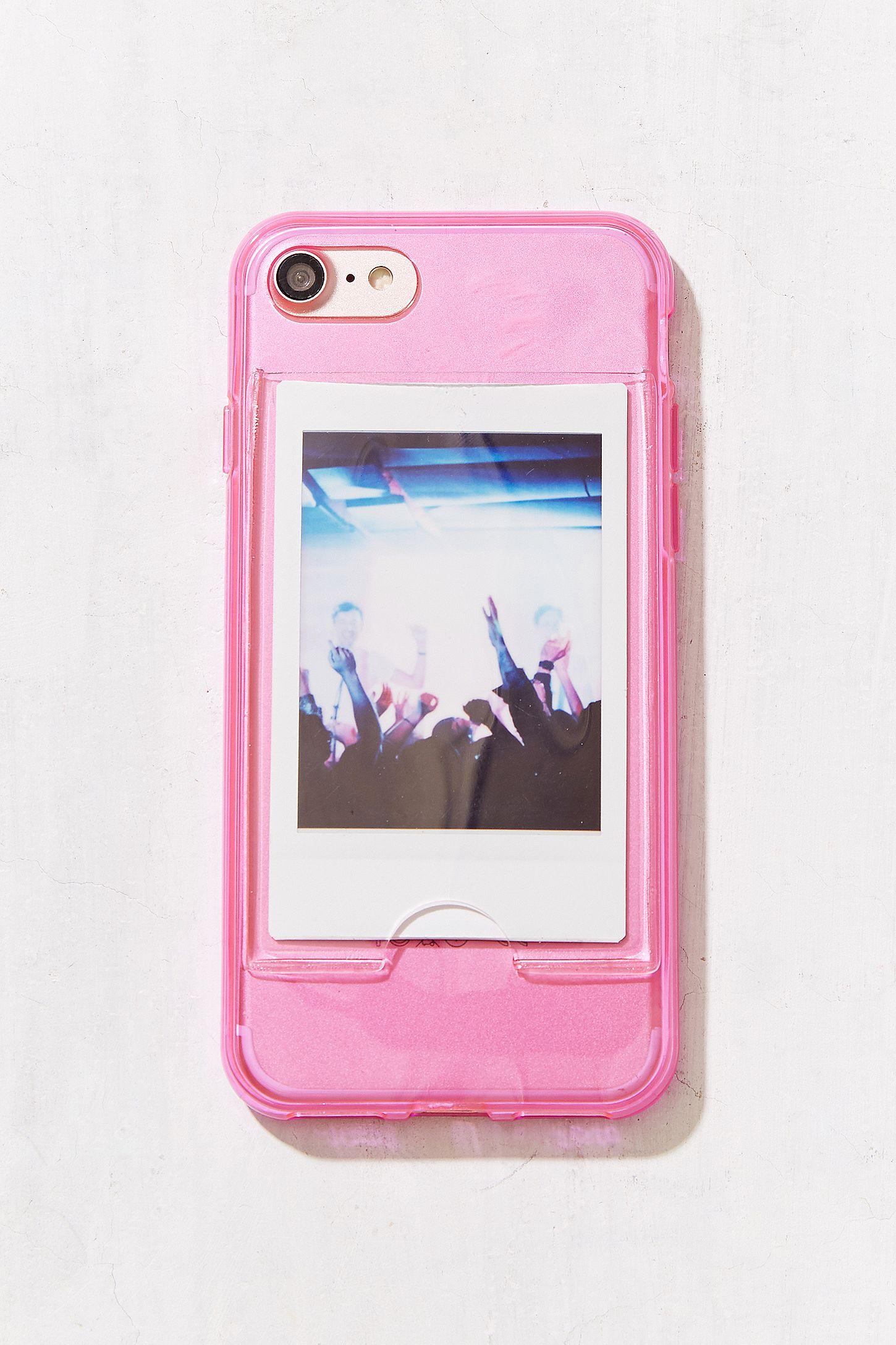 new product 539b1 639da Neon Instax Mini Frame iPhone 6/6s/7/8 Case