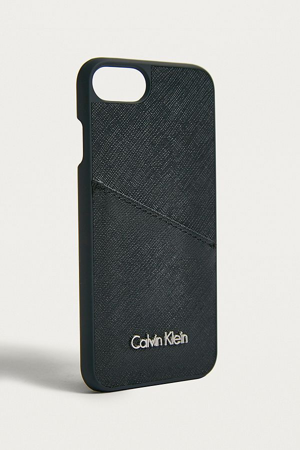 half off d5f50 526c2 Calvin Klein Black iPhone 7 Case