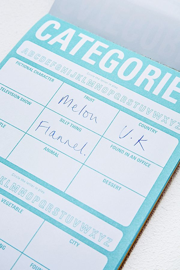 On-the-Go Games Notepad | Urban Outfitters UK