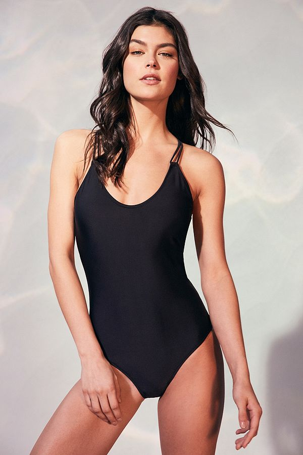 96e7e3ada8 Volcom Simply Solid 1-Piece Swimsuit | Urban Outfitters FR