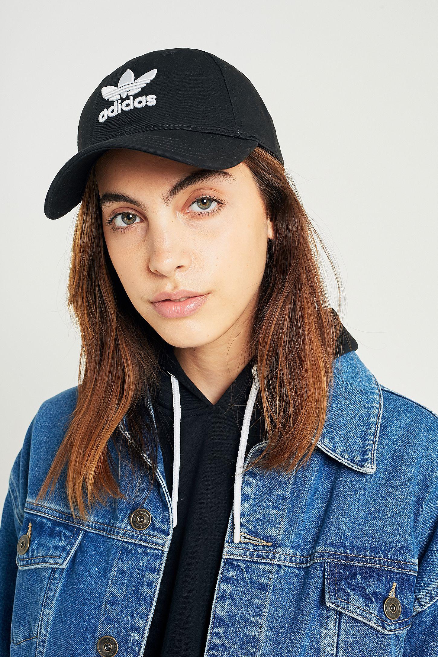5bdcf07a907 adidas Originals Trefoil Baseball Hat