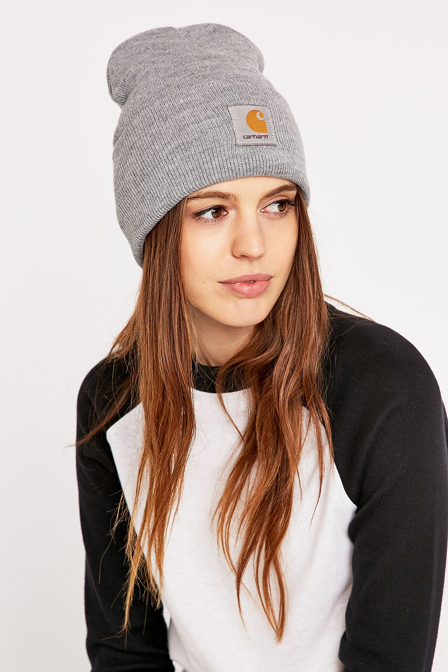 c05635fdd5e Carhartt Heather Grey Watch Beanie. Click on image to zoom. Hover to zoom.  Double Tap to Zoom