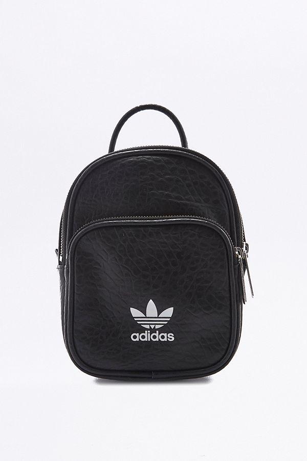 9cc71d26fe adidas Originals Adicolor Classic Mini Black Backpack