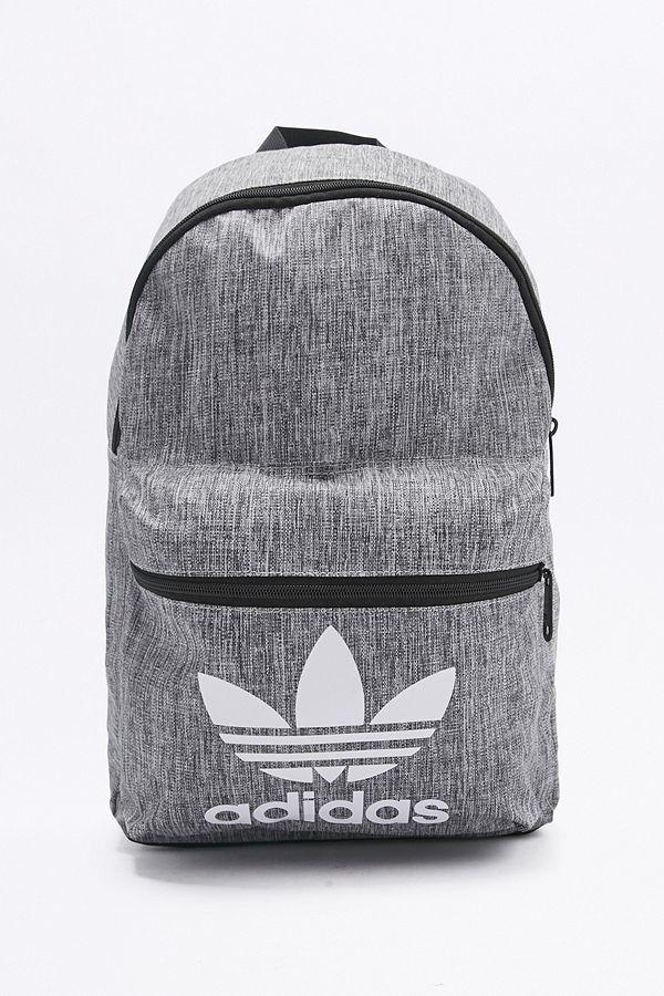 adidas Originals Grey Melange Backpack   Urban Outfitters UK