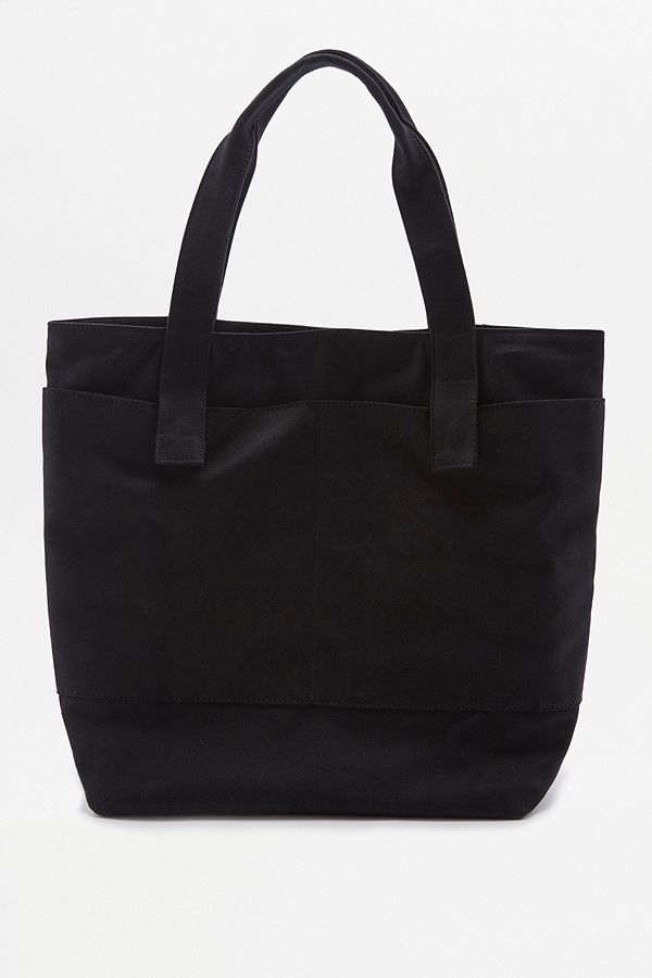 85ac4a1deed Oversized Black Canvas Tote Bag