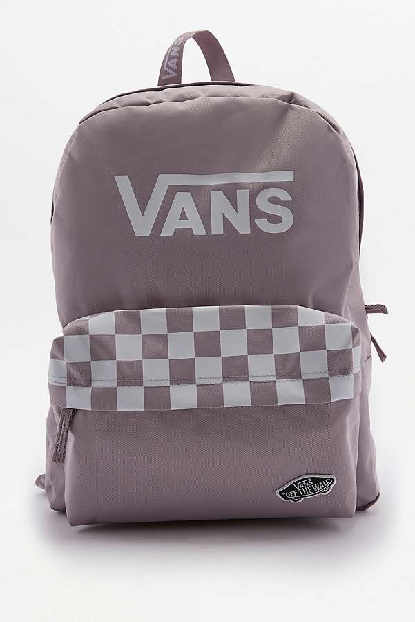 d2ee0033f6 Vans Sporty Realm Lilac Backpack | Urban Outfitters UK