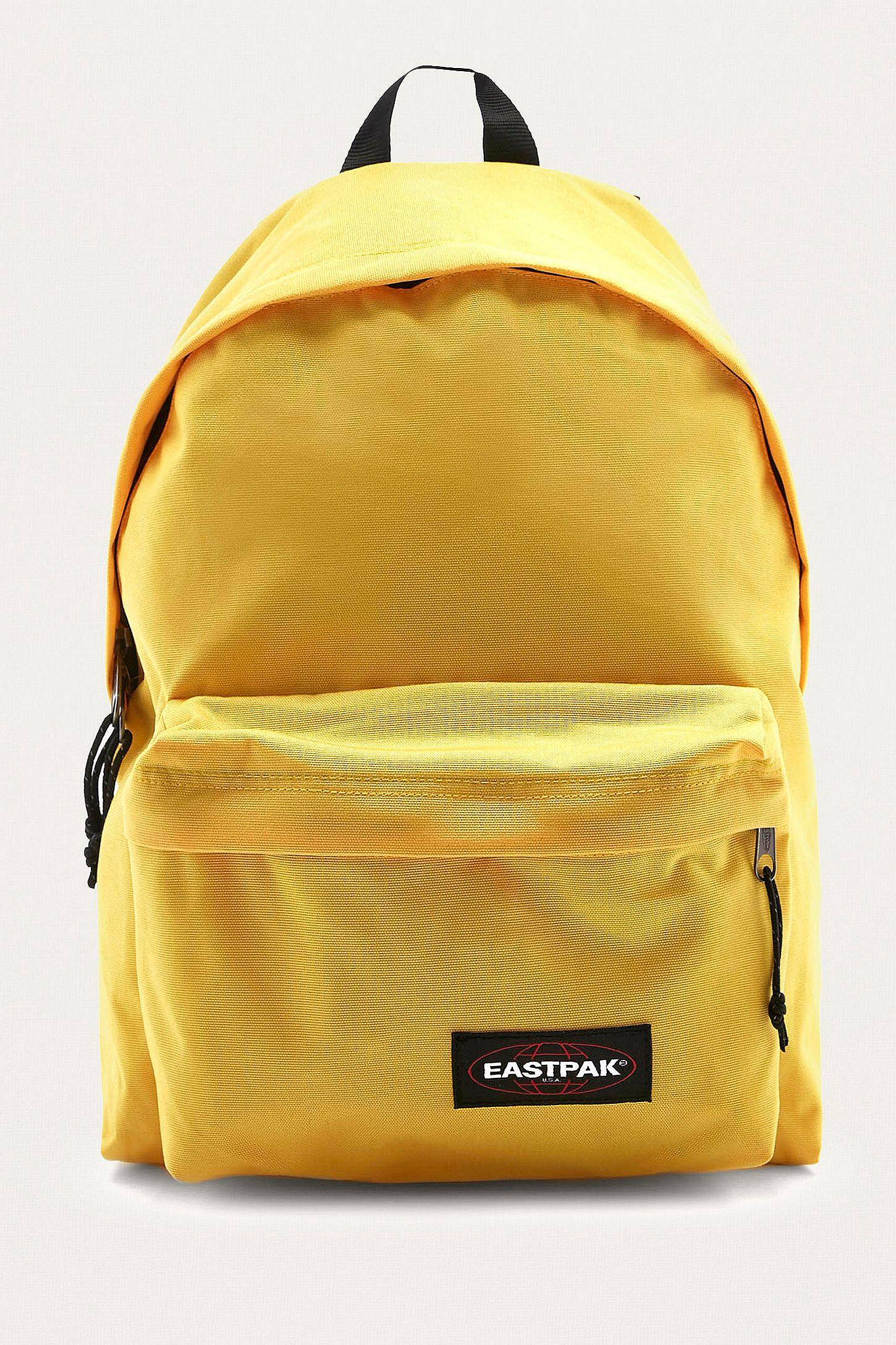 Eastpak Padded Pak R Flexible Yellow Backpack