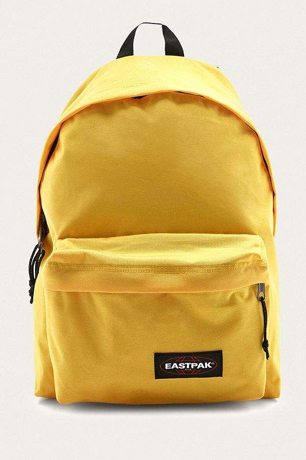 8766d740d Eastpak Padded Pak'R Flexible Yellow Backpack | Urban Outfitters UK