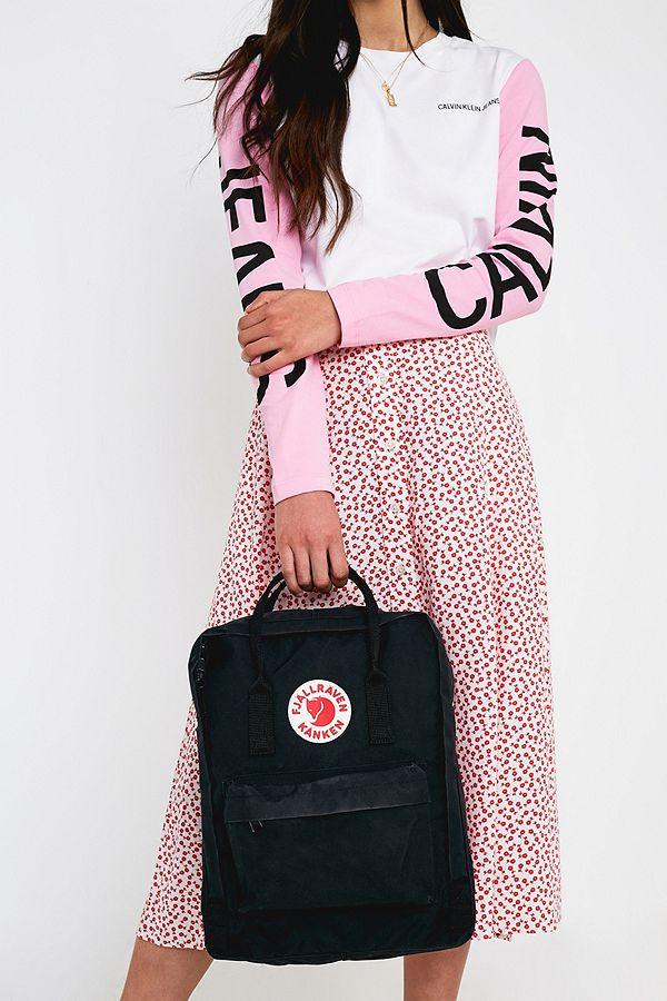 b0cb9cac0 Fjallraven Kanken Classic Black Backpack | Urban Outfitters UK