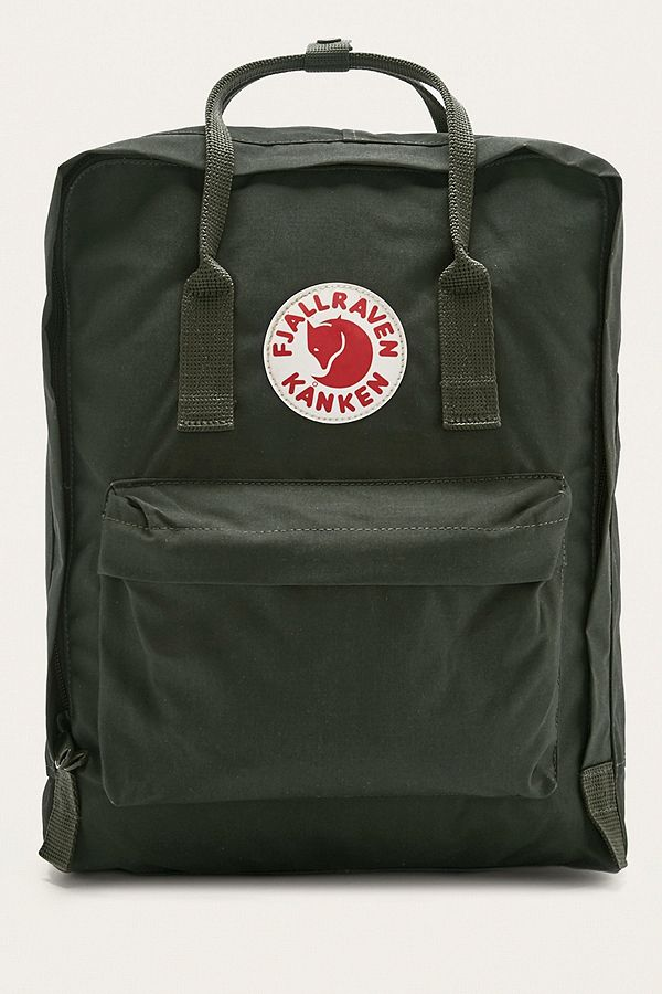 10b045ee42a Fjallraven Kanken Classic Forest Green Backpack | Urban Outfitters UK
