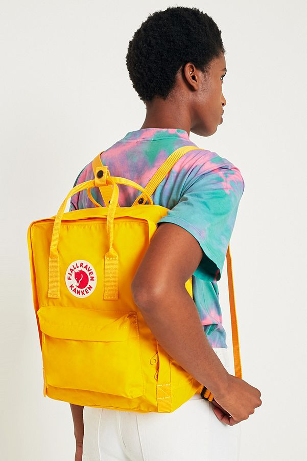 a21c6904b Fjallraven Kanken Classic Warm Yellow Backpack | Urban Outfitters UK