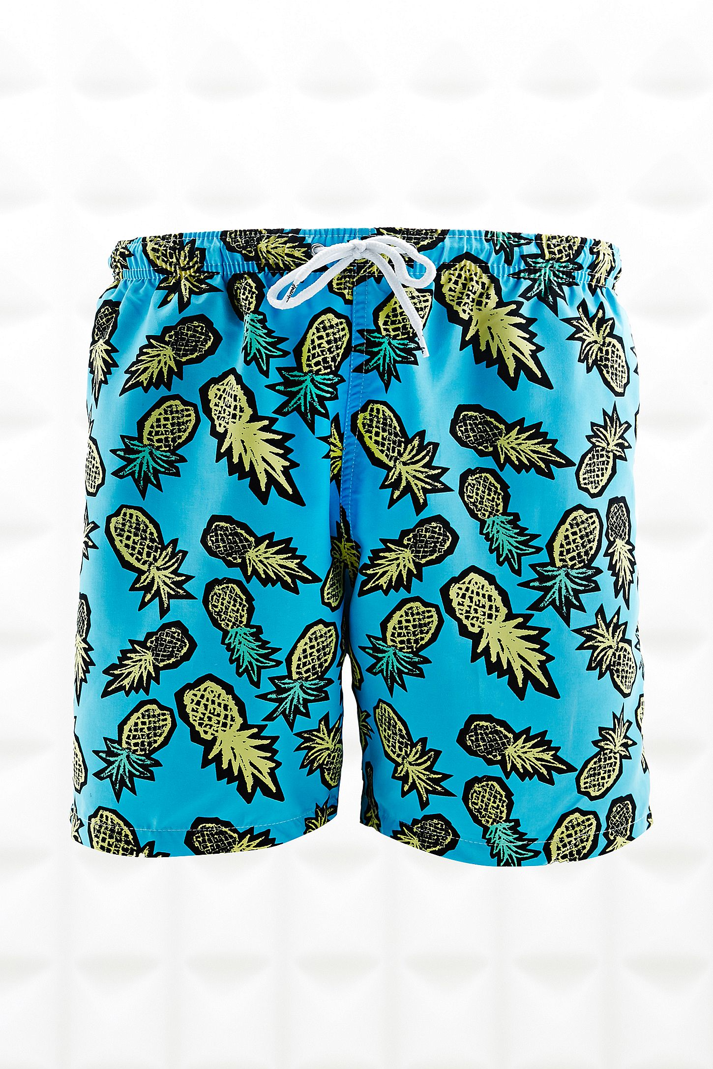 657d049d23 Franks Swim Shorts in Pineapple Print. Click on image to zoom. Hover to  zoom. Double Tap to Zoom