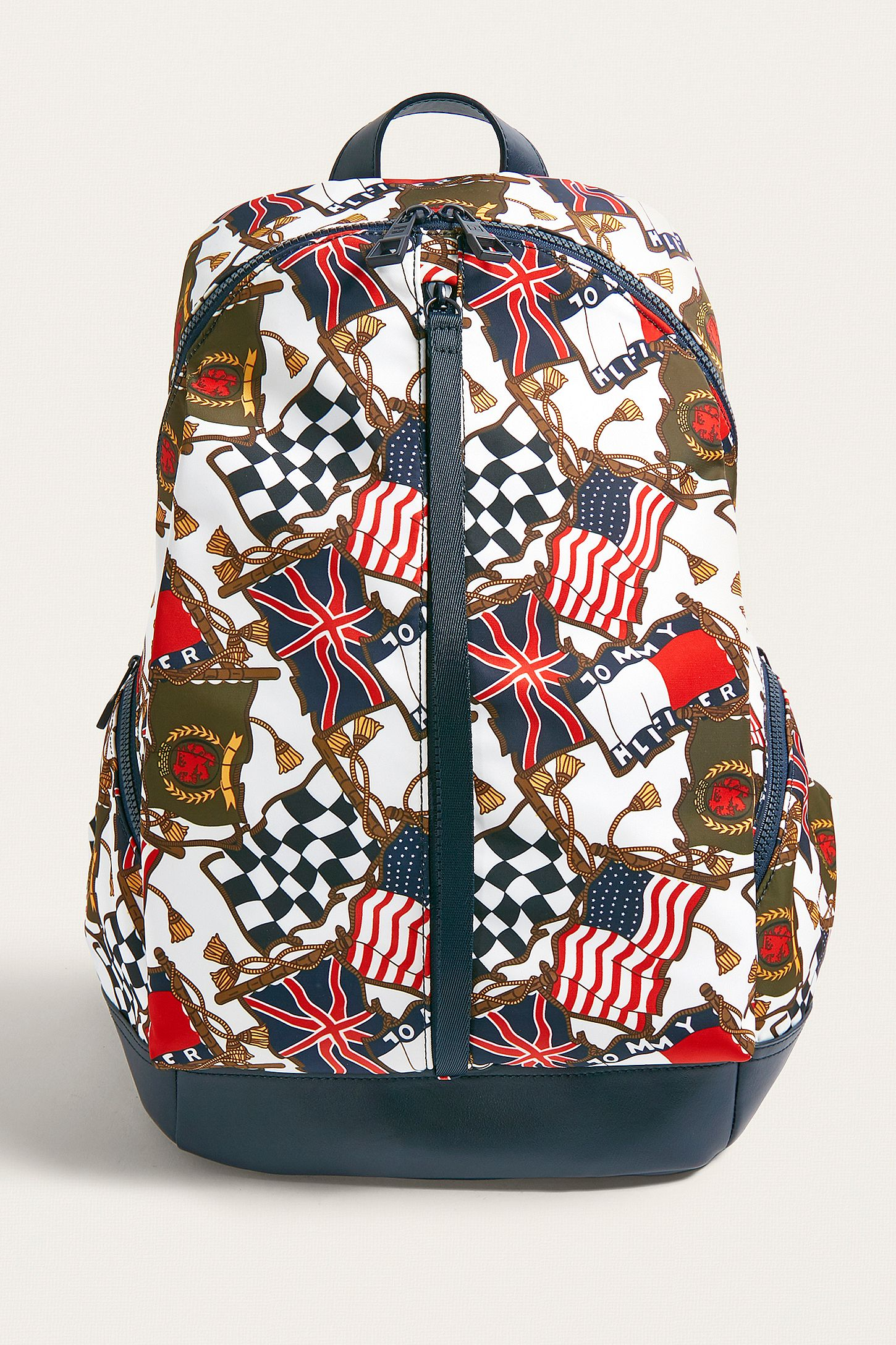 b8b5bc8c19a8 Tommy Jeans Flag Print Backpack