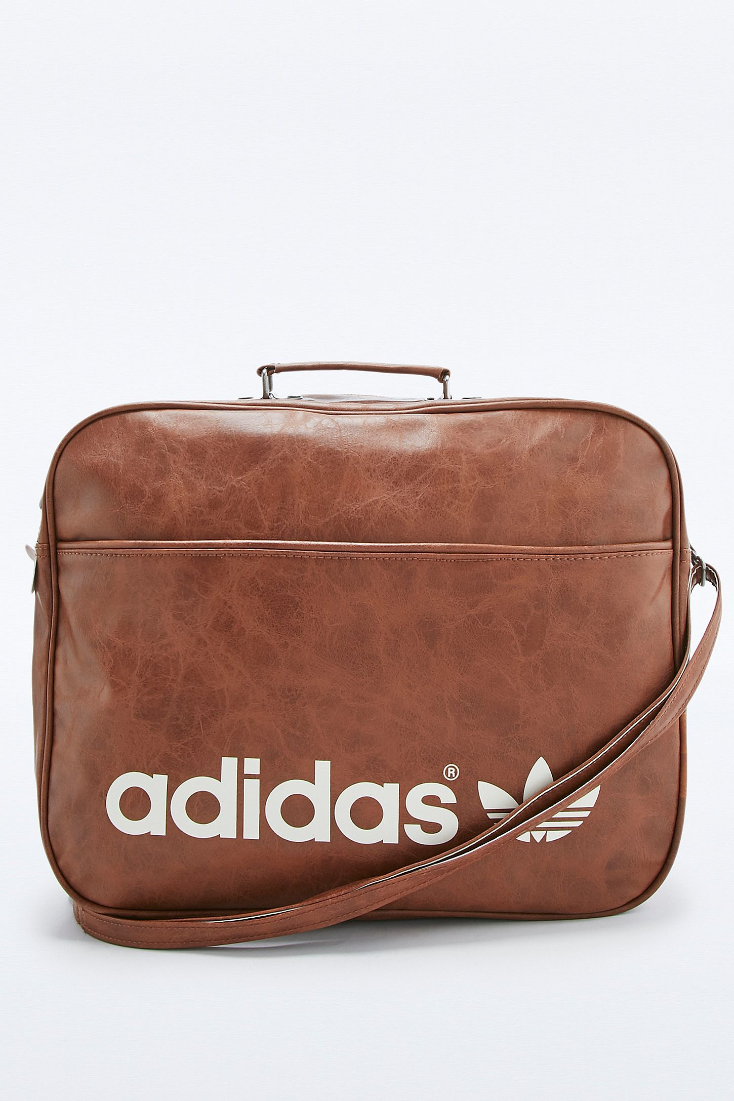 b0b8d1ebed adidas Originals Brown Vintage Airline Bag. Click on image to zoom. Hover  to zoom. Double Tap to Zoom