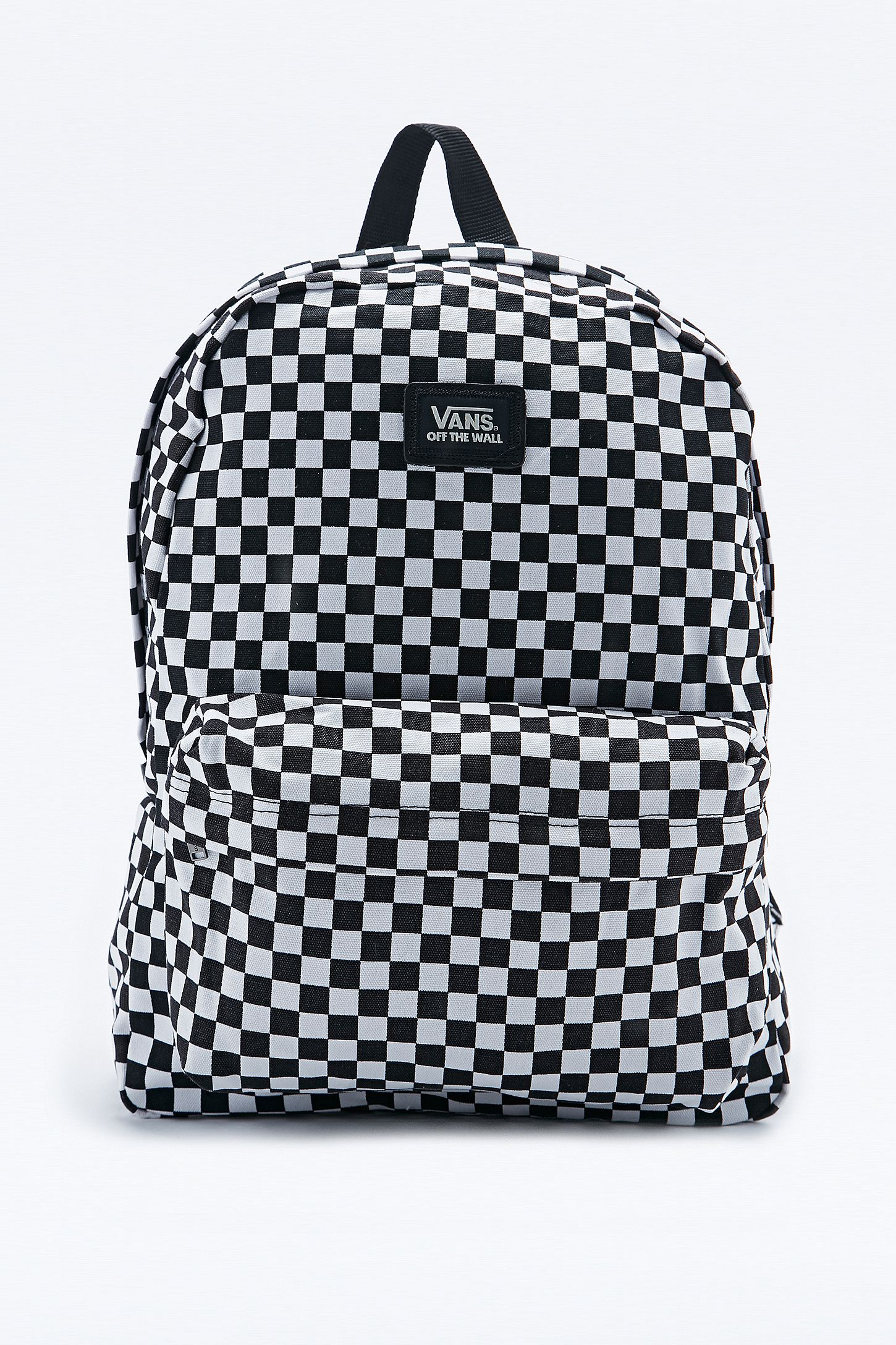 ffd53c940c Vans Checkerboard Backpack in Black and White