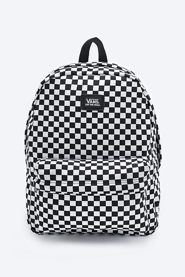 50ce9e27280 Vans Old Skool Checkerboard Backpack in Black and White | Urban ...