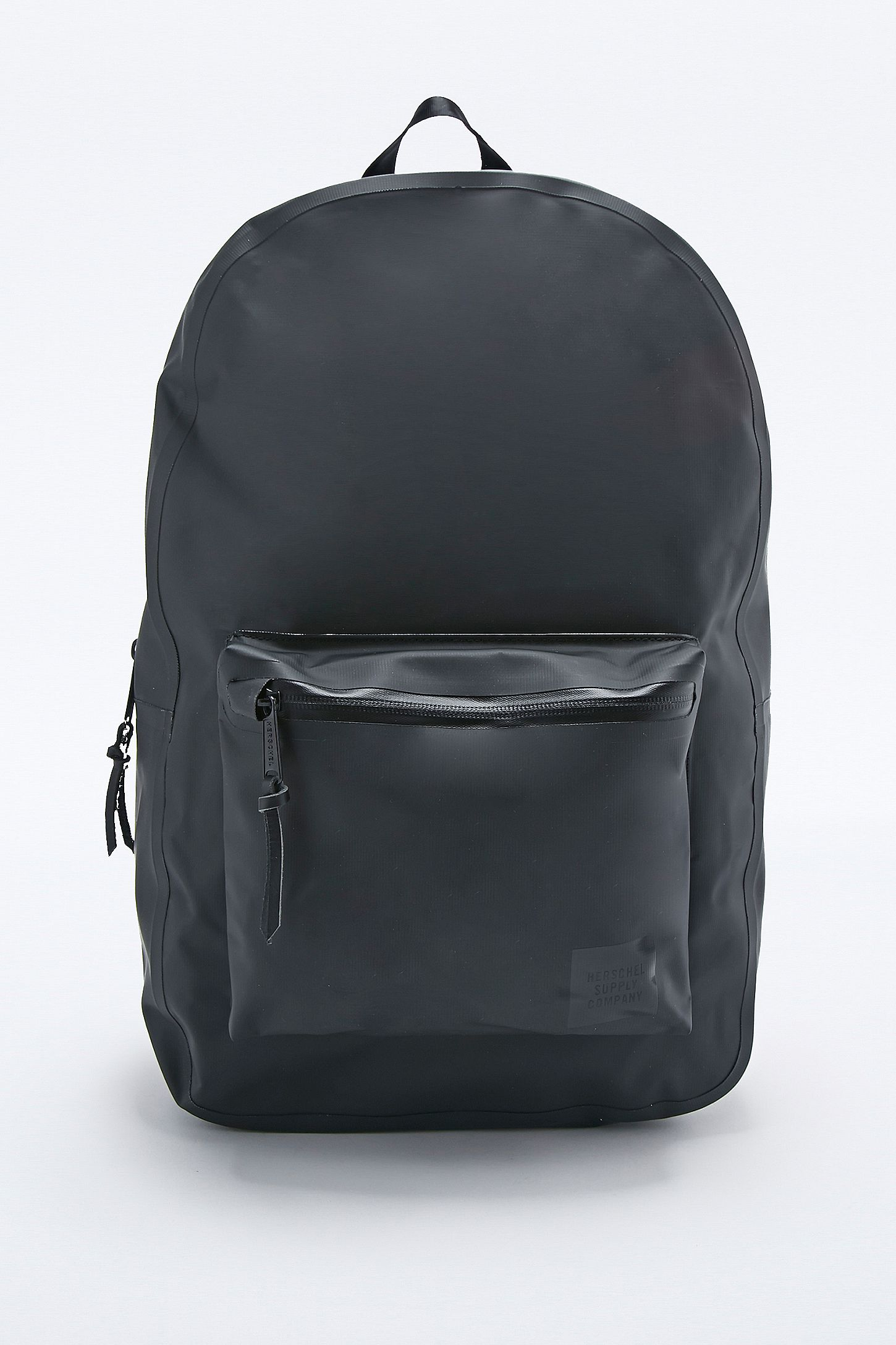 46bf30186f6 Herschel Supply co. Settlement Studio Tarpaulin Backpack in Black. Click on  image to zoom. Hover to zoom. Double Tap to Zoom
