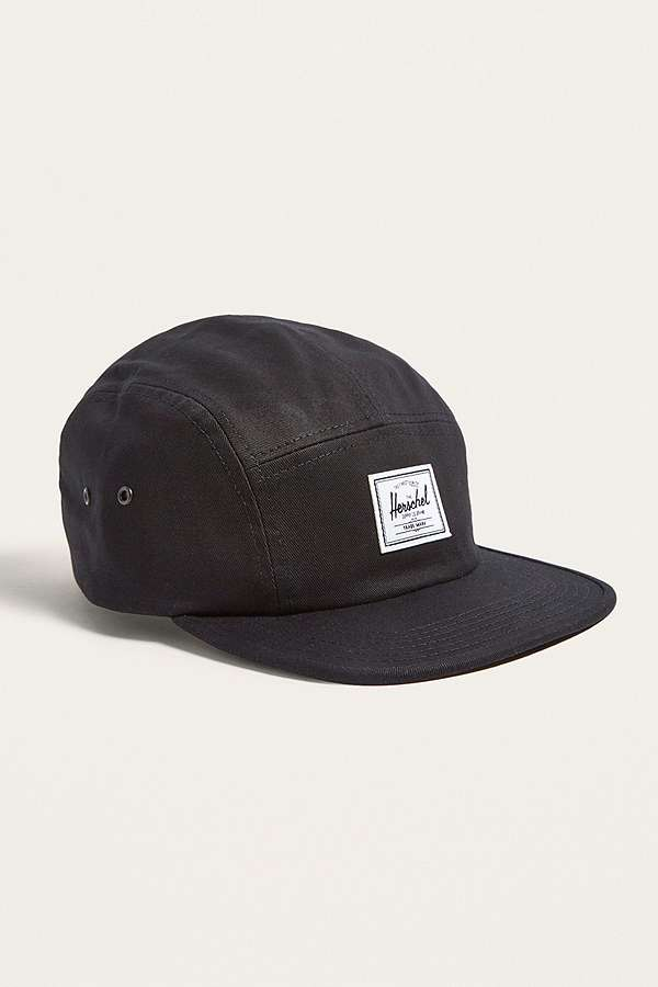 49785faabdd Herschel Supply Co. Glendale Black Classic 5-Panel Cap