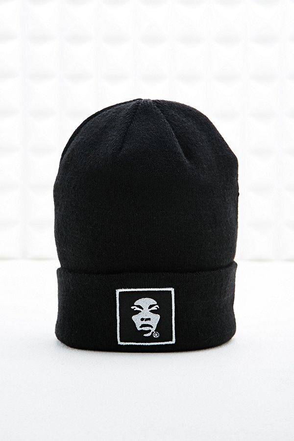 4bc7b068add Supremebeing Face Beanie Hat in Black