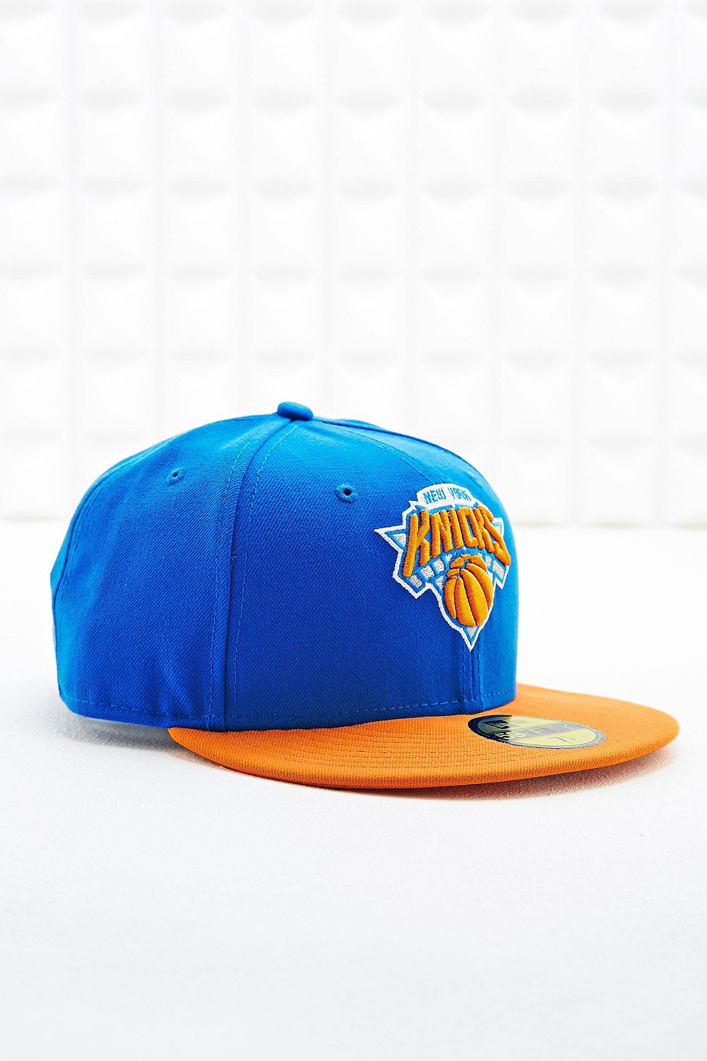 1b0e700a6abd New Era 9Fifty New York Knicks Cap in Blue