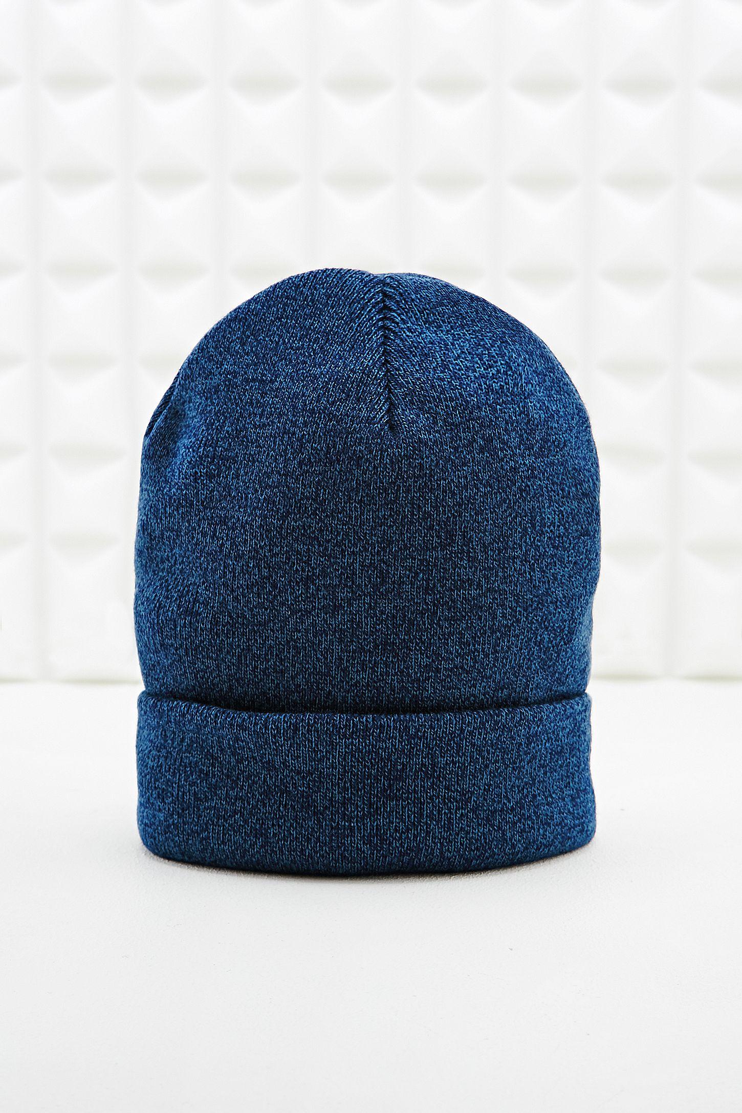 455333a8c32 Sports Beanie Hat in Marled Blue