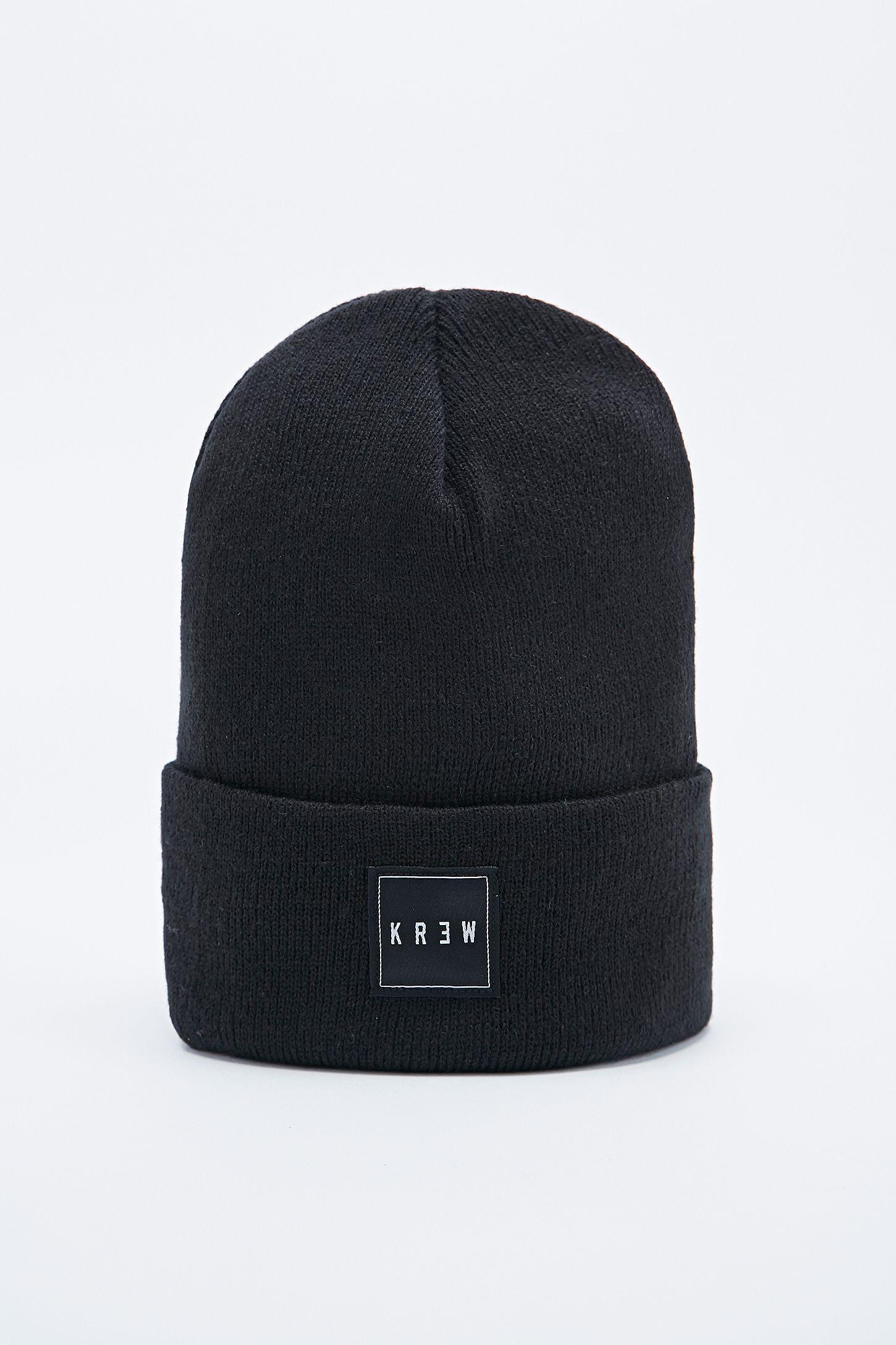 0635225a031 KR3W Jersey Beanie in Black