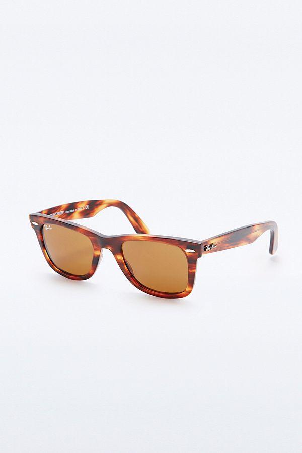 c03aca01d Ray-Ban Classic Tortoiseshell Wayfarer Sunglasses | Urban Outfitters UK