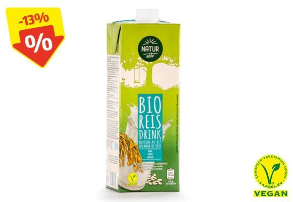 Eine Packung NATUR AKTIV BIO-Reisdrink