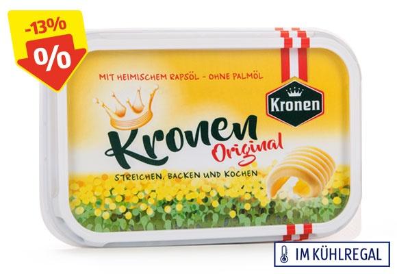 Eine Packung KRONEN Margarine