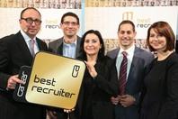 Auszeichnung Career's best Recruiter