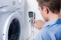 Waschmaschine mit Stromzähler