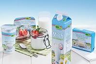 Produkte der Hofer-Eigenmarke Lactofree