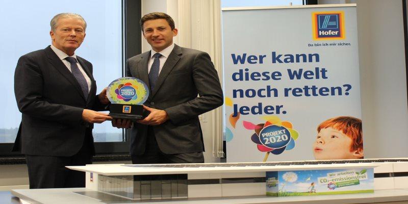 Günther Helm mit Hr. Mitterlehner