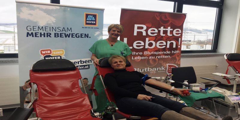 Blutspendeaktion Loosdorf