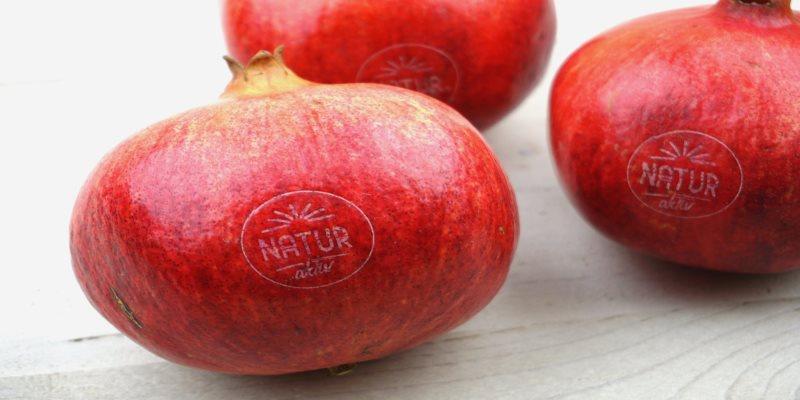 Natural Branding auf Produkten