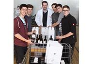Schüler der Weinbauschule