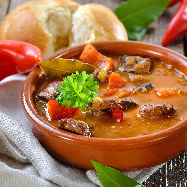 Karotten-Biergulasch