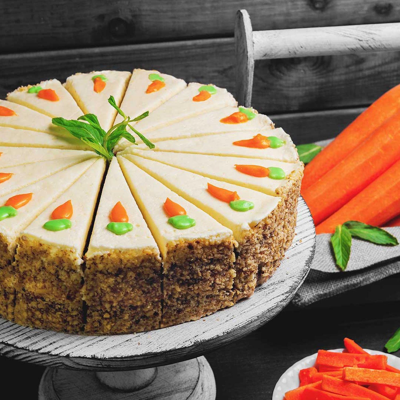 Karotten-Buttercreme-Torte