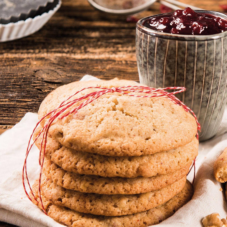 Preiselbeer-Cookies