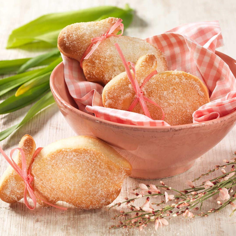 Süße Topfen-Osterhäschen