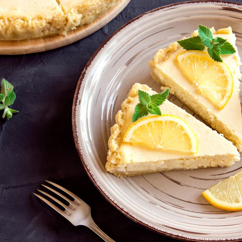 Zitronen-Topfen-Torte